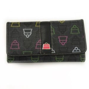 "Kathy Van Zeeland ""Pocketbook"" Wallet Clutch"